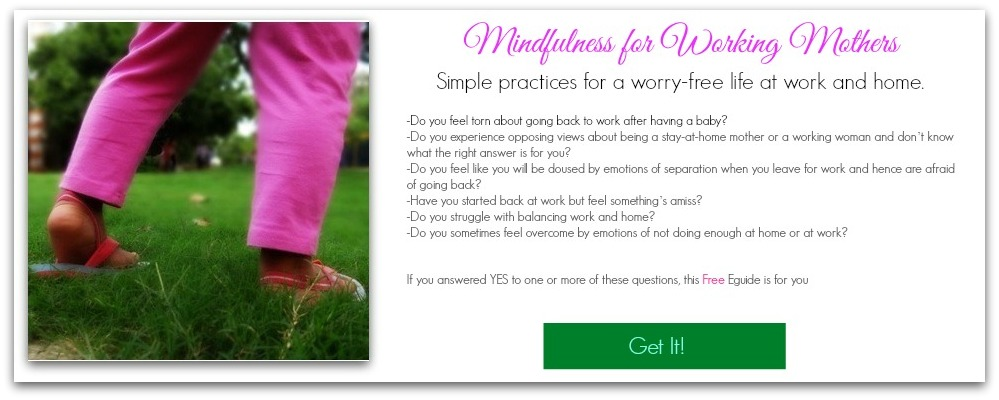 Mindfulness for Working Mothers